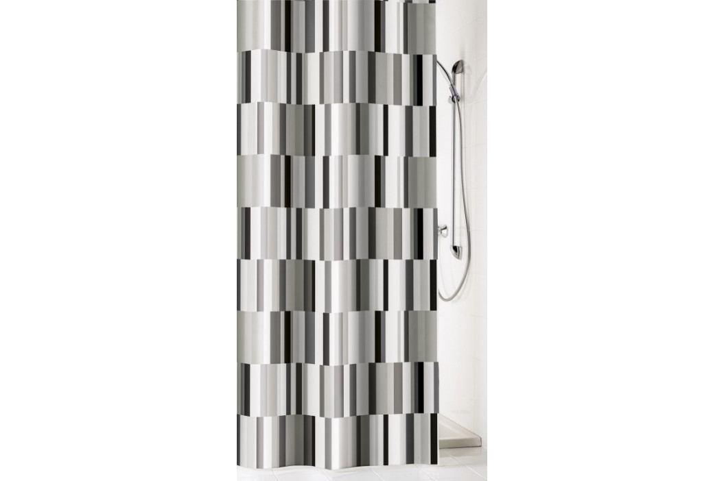 INDUSTRY sprchový závěs 180x200cm, polyester šedý (5280901305)