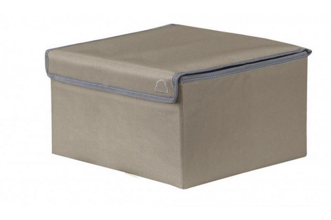 VOLTA box velký 25x15x25cm, tmavě hnědý (5833271060)
