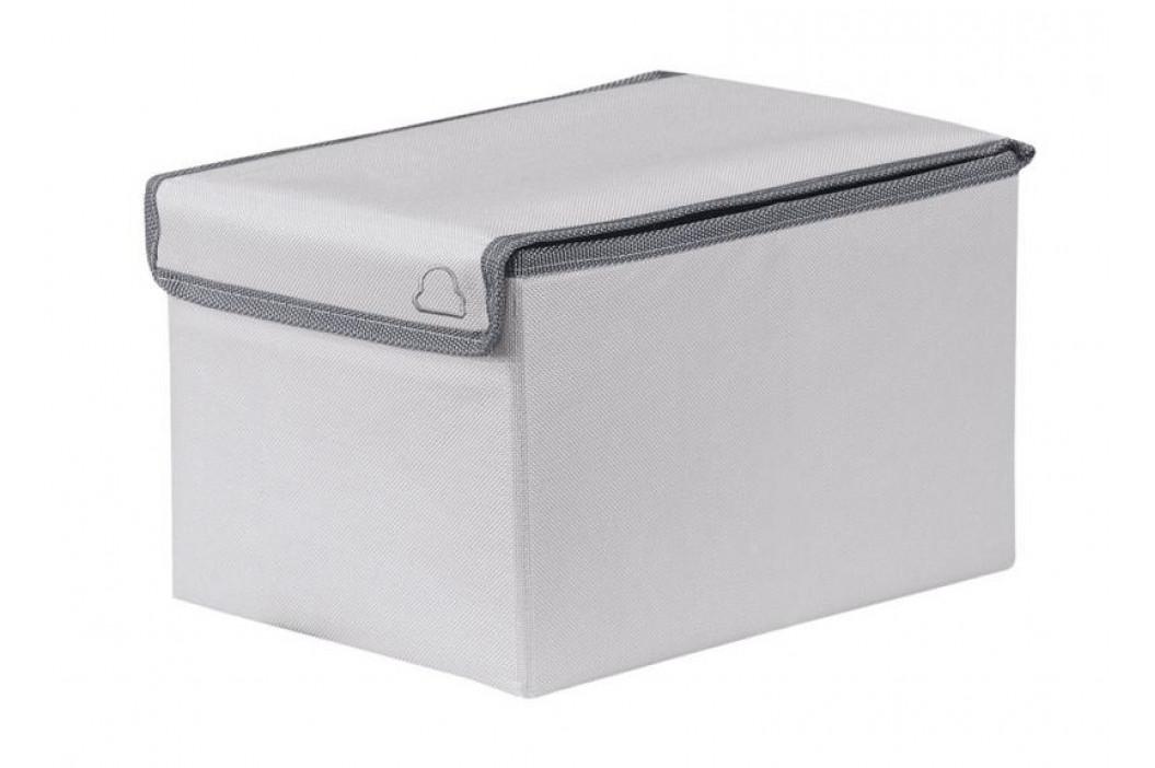VOLTA box malý 18x15x25cm, světle šedý (5833146059)
