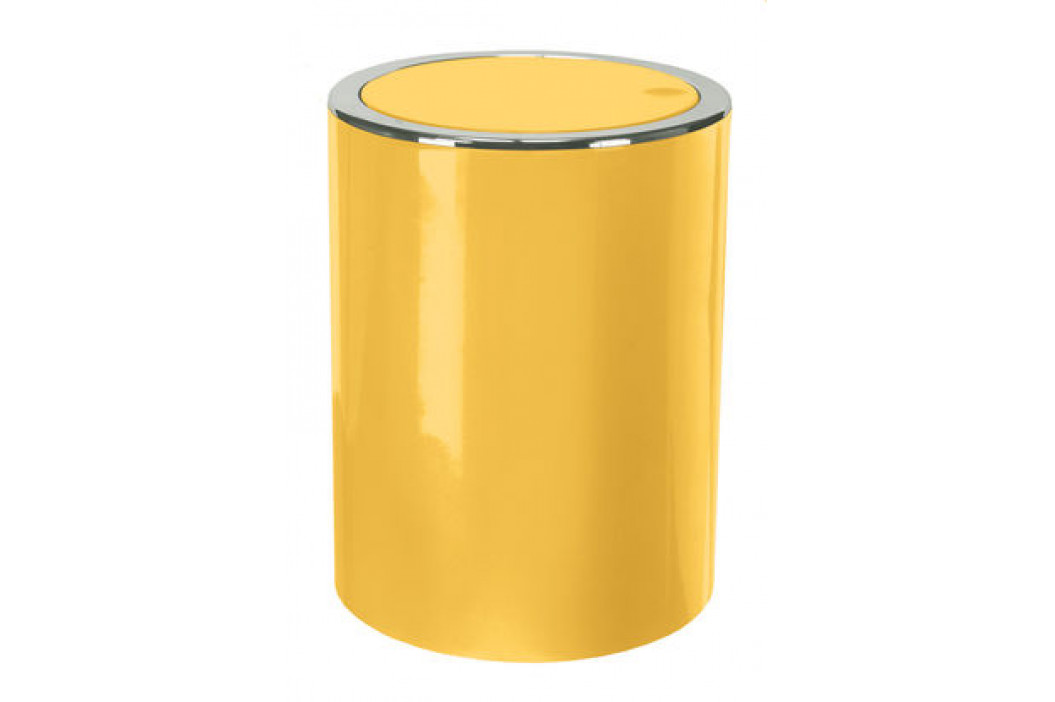 CLAP odpadkový koš výklopný 5 litrů, žlutý (5829553858)