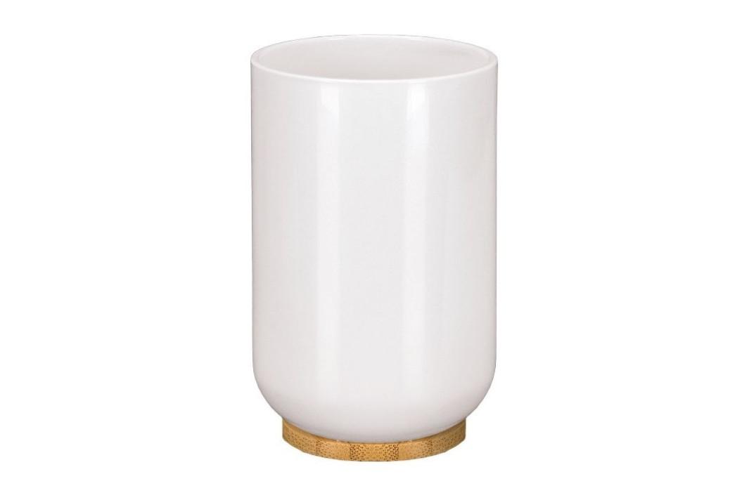 TIMBER kelímek na postavení, bílý/bambus (5877100852)
