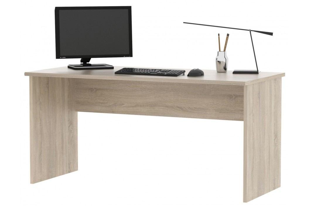 Kancelářský psací stůl JH111 dub sonoma obrázek inspirace