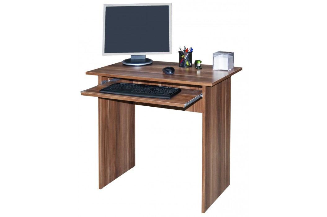 MB Domus Jednoduchý  PC stůl TWIST, švestka