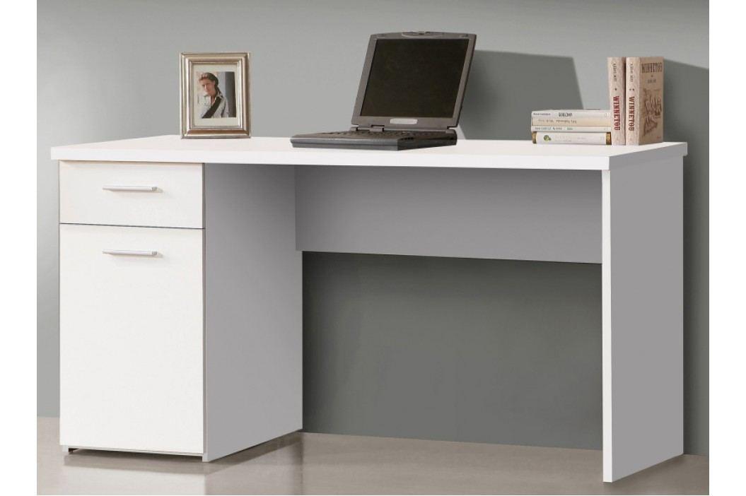 psací stůl NET106 MT936, bílý uni mat