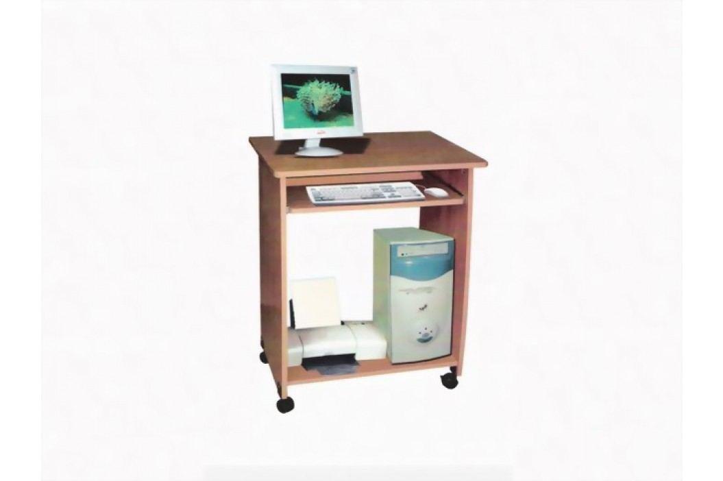 Idea PC stůl na kolečkách S161-I, buk