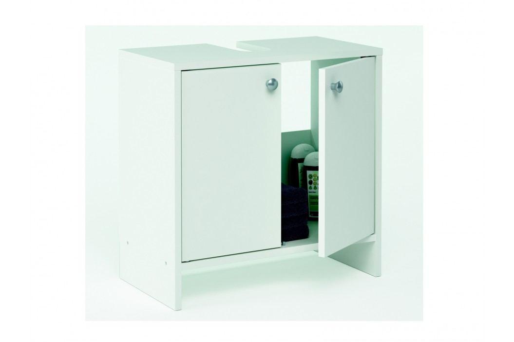 DEMEYERE MALEGA, skříňka pod umyvadlo, bílá, 52,3x27,9x52,5 cm