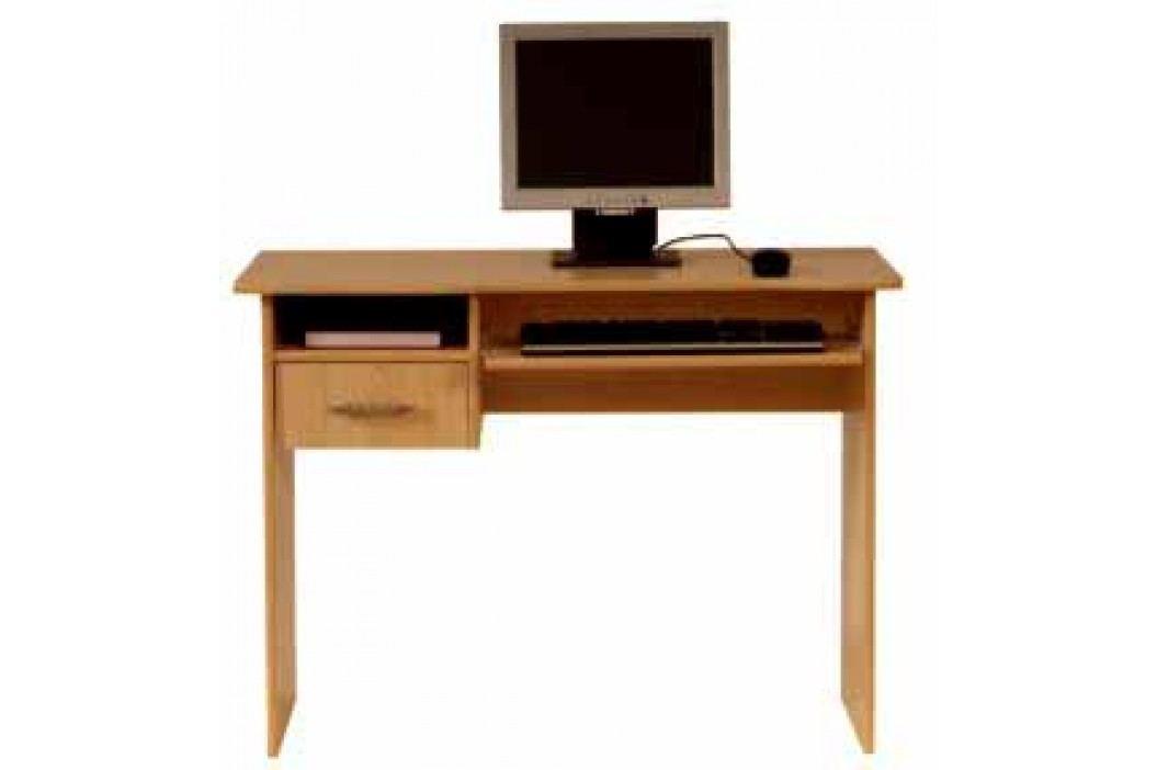 PC stůl se zásuvkou TIP TOP, TBIU 1s/100, olše medová DOPRODEJ