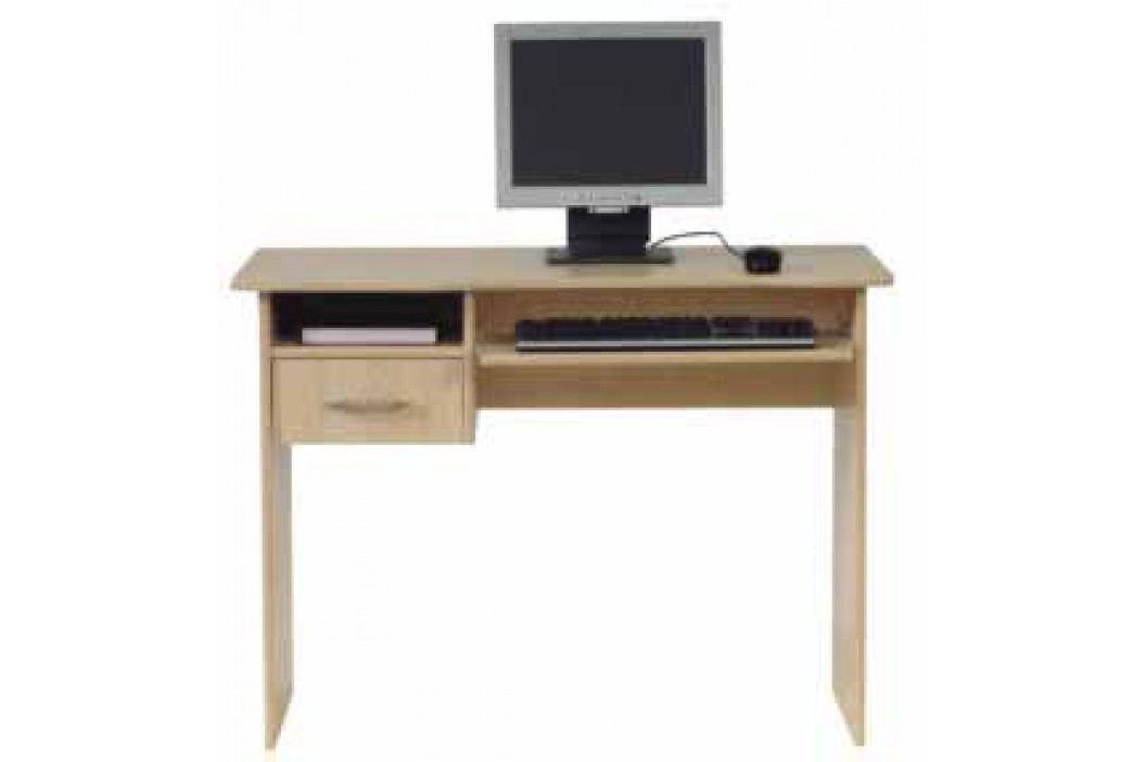 PC stůl se zásuvkou TIP TOP,  TBIU 1s/100, javor DOPRODEJ