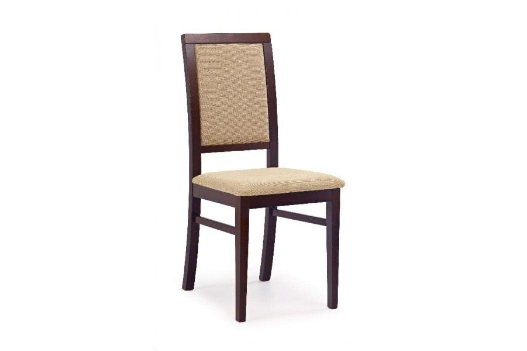 Jídelní židle SYLWEK 1, ořech tmavý/látka obrázek inspirace