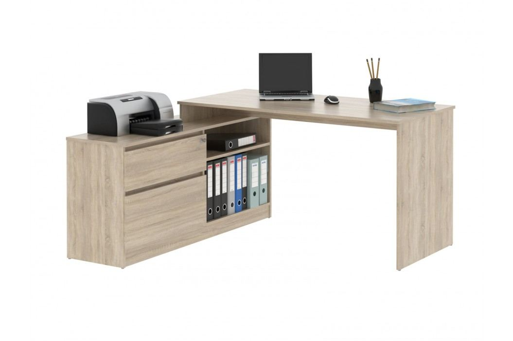 MB Domus Monoblok stolový GP01, dub sonoma, 156,9x74,4x138 cm