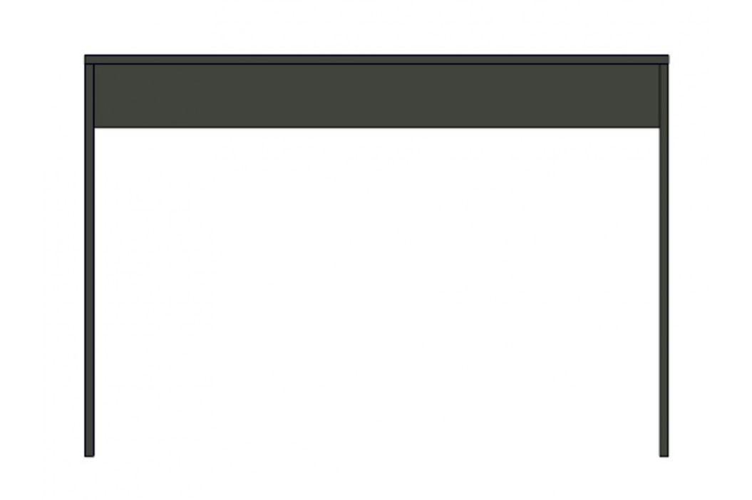 Smartshop Minimalistický psací stůl LOBO, šedý grafit