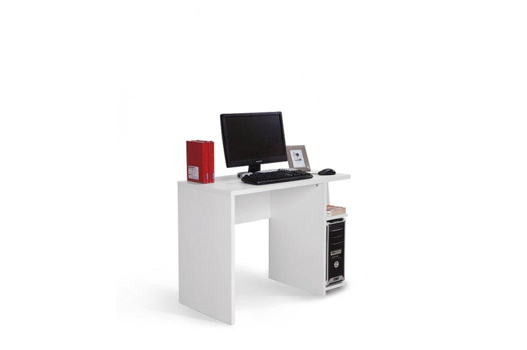 Praktický psací stůl HAPPY, bílá