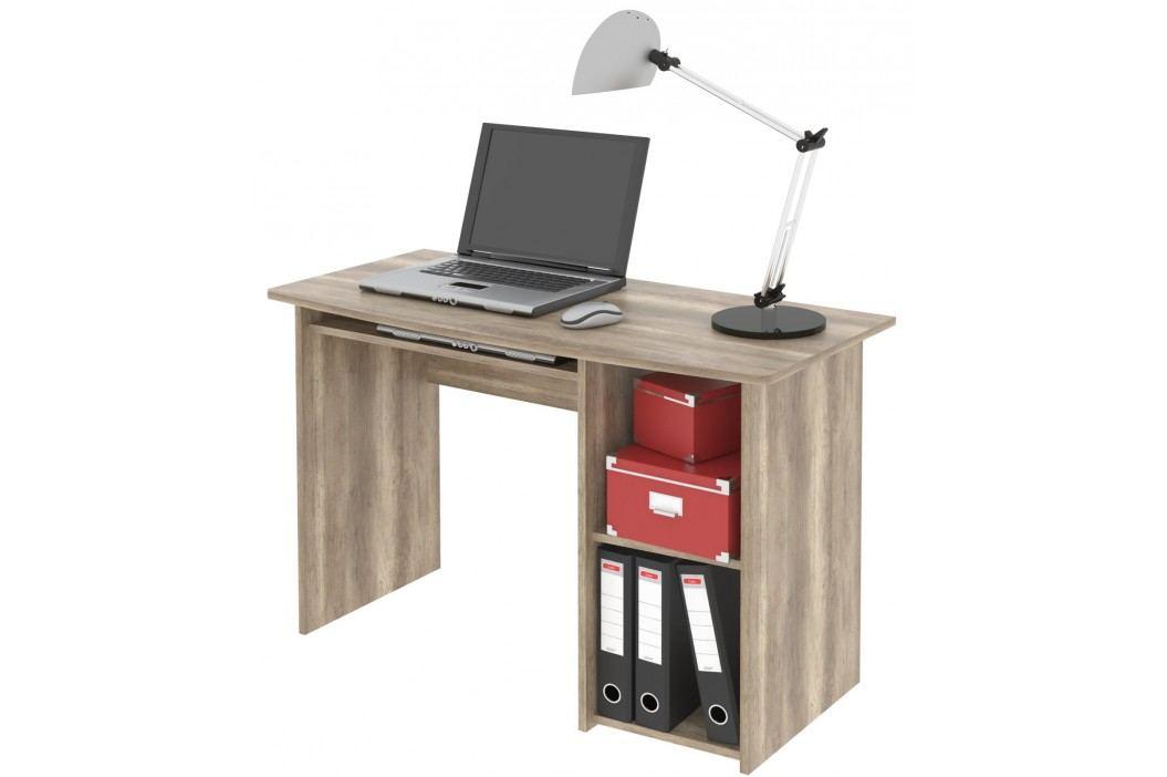 MB Domus Kancelářský PC stůl REMUS, canyon oak