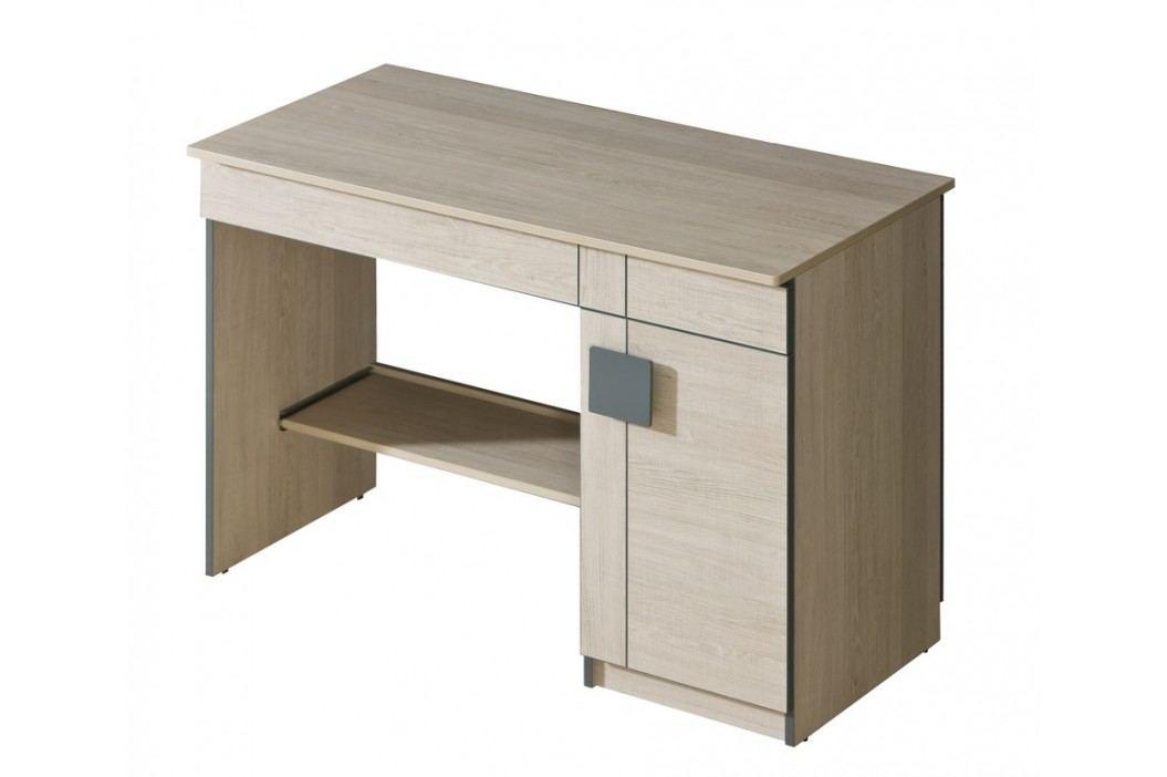 Dolmar GIMMI, Psací stůl G6, dub santana + barva: ...
