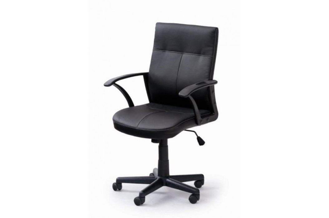 Kancelářské křeslo HECTOR, černá ekokůže