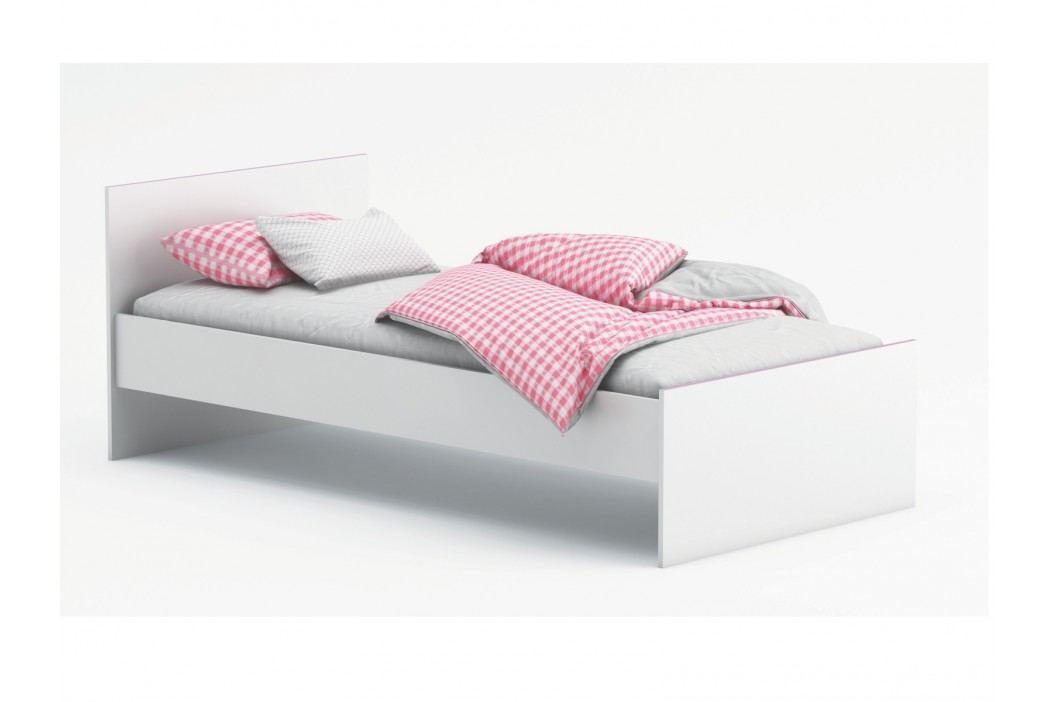 SVITCH, postel 90x190 cm, bílá/růžová nebo modrá obrázek inspirace