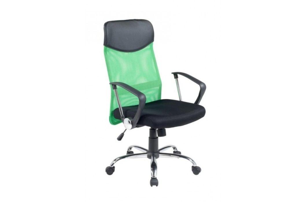 Halmar Kancelářské křeslo VIRE, černá/zelená