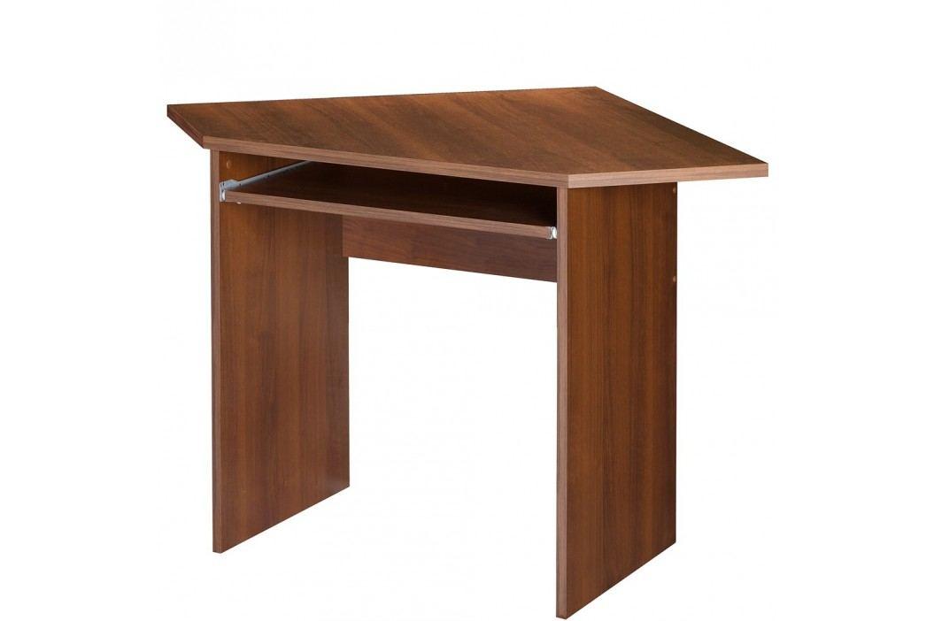 PC stůl rohový MAG EURO 32, ořech