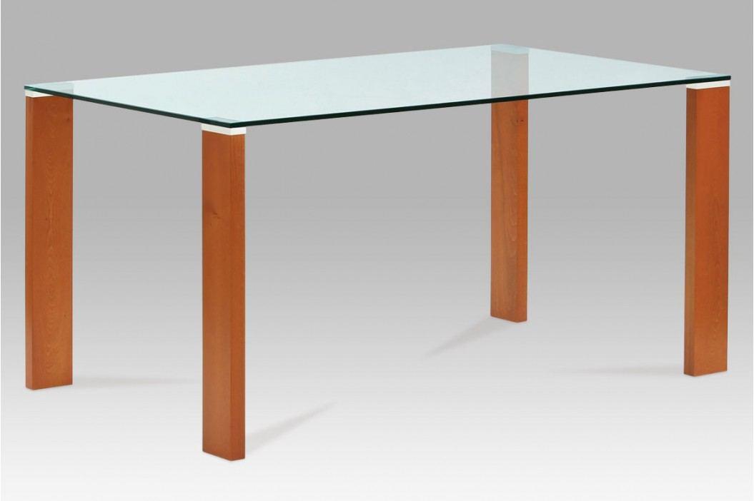 Jídelní stůl BT-6750 TR2, třešeň/sklo obrázek inspirace