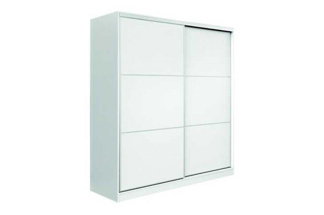 MATIS Skříň šatní AP200, bílá/bílá