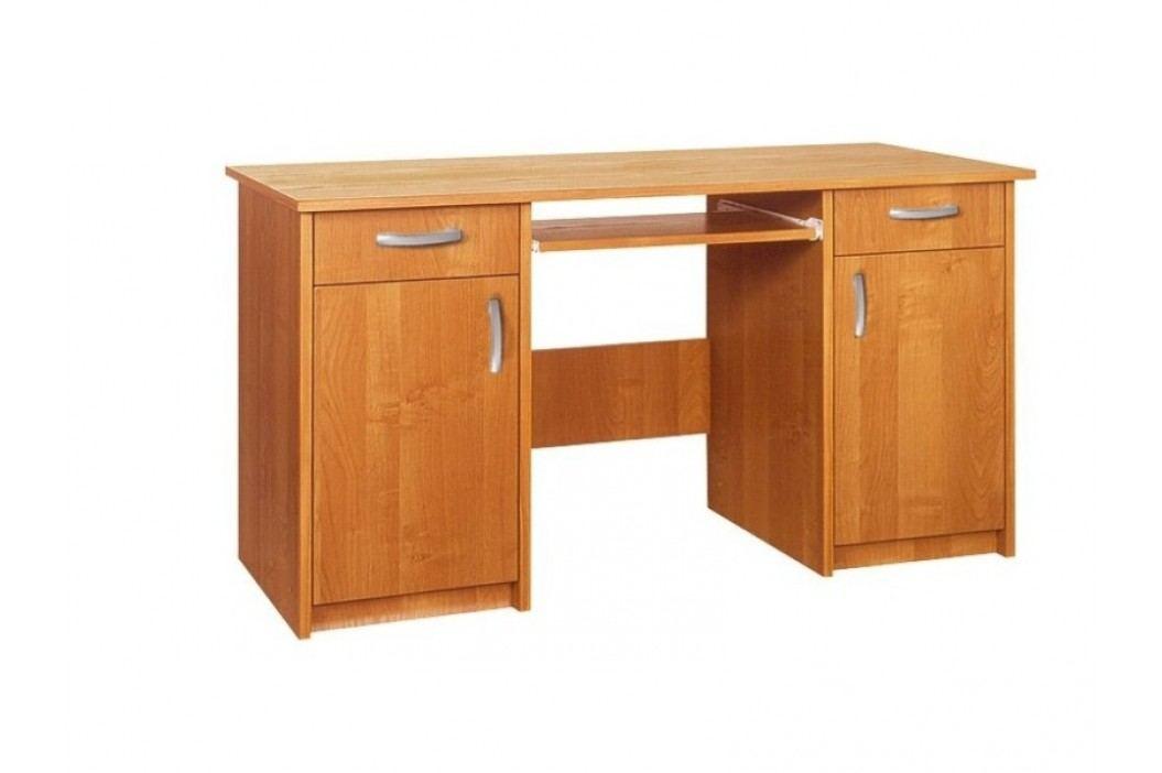 MORAVIA FLAT  Praktický PC stůl DUET, barva: