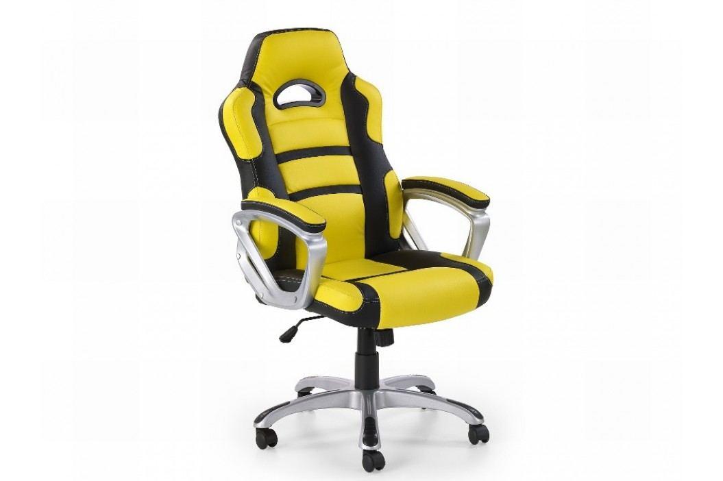 Halmar Kancelářské křeslo HORNET, žluto-černý