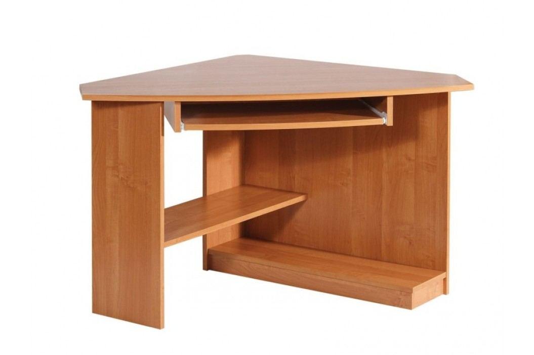 MORAVIA FLAT Rohový PC stůl CAREN, levý, barva:
