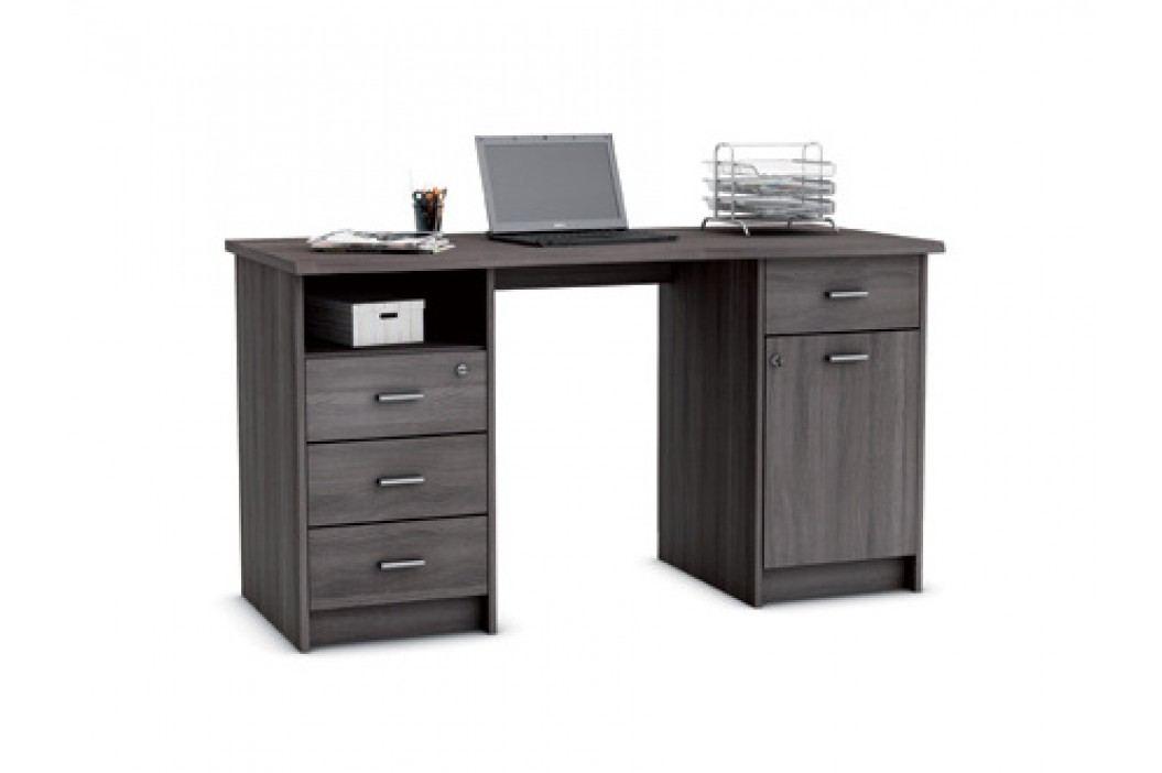 DEMEYERE MONAKO, psací stůl, dub vulcano