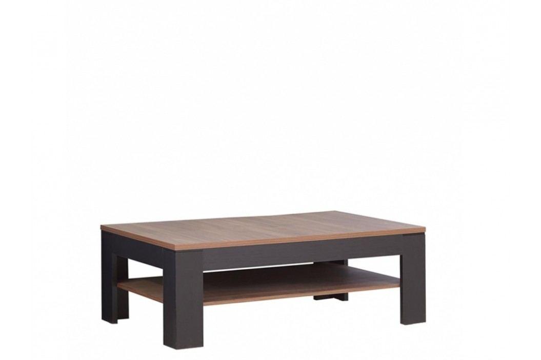Forte LATINA konferenční stolek SVOT22, dub sangallo/dub černý