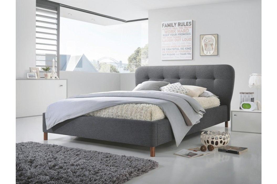 Smartshop VALENTINO postel 160x200, šedá