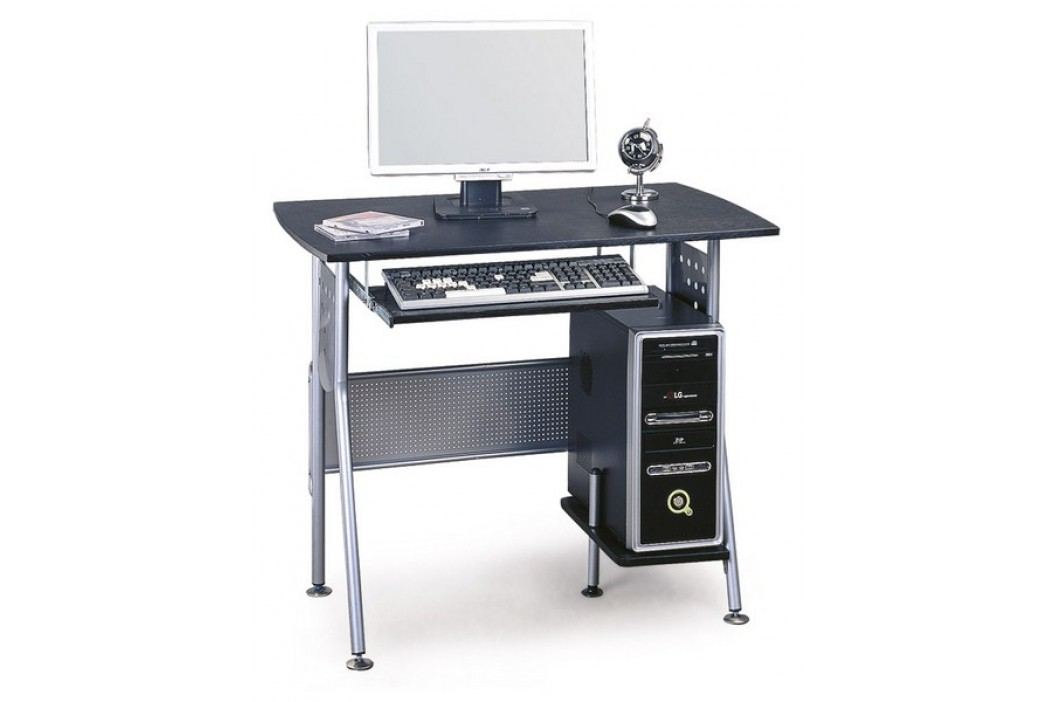Smartshop PC stůl B-58, hnědá/kov