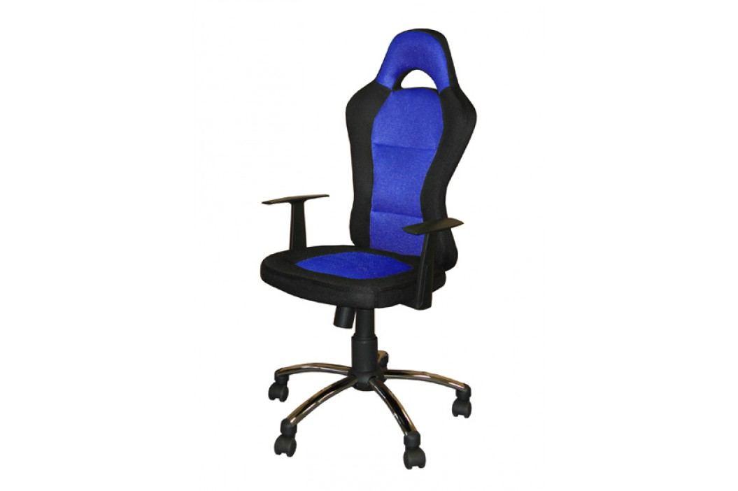 Idea Kancelářské křeslo CEZAR modré