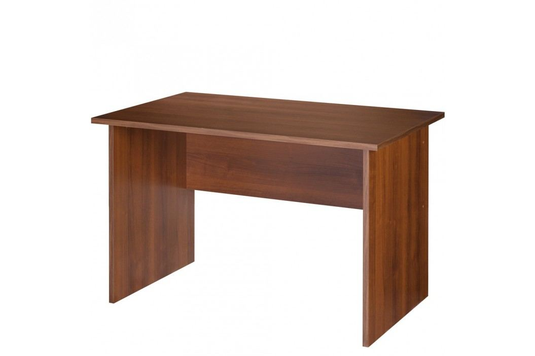 SZYNAKA Kancelářský psací stůl MAG EURO 20, šířka 120 cm, ořech tmavý