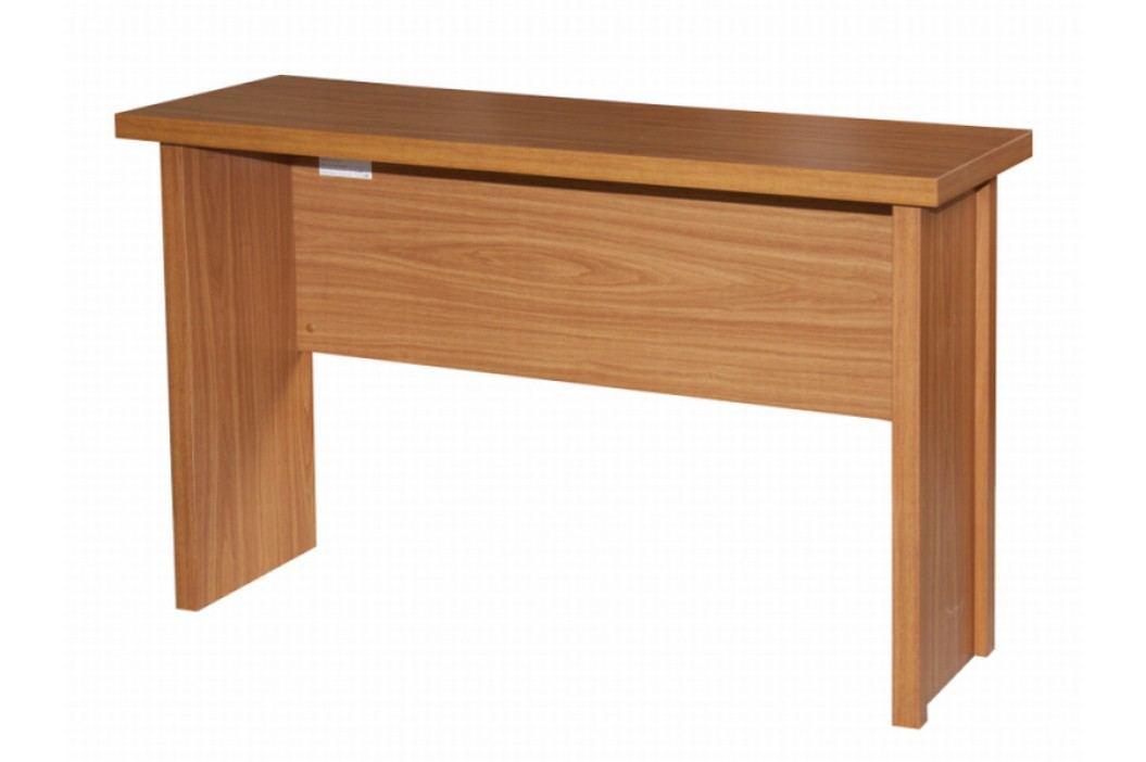 Tempo Kondela Jednoduchý psací stůl OSCAR T02, třešeň
