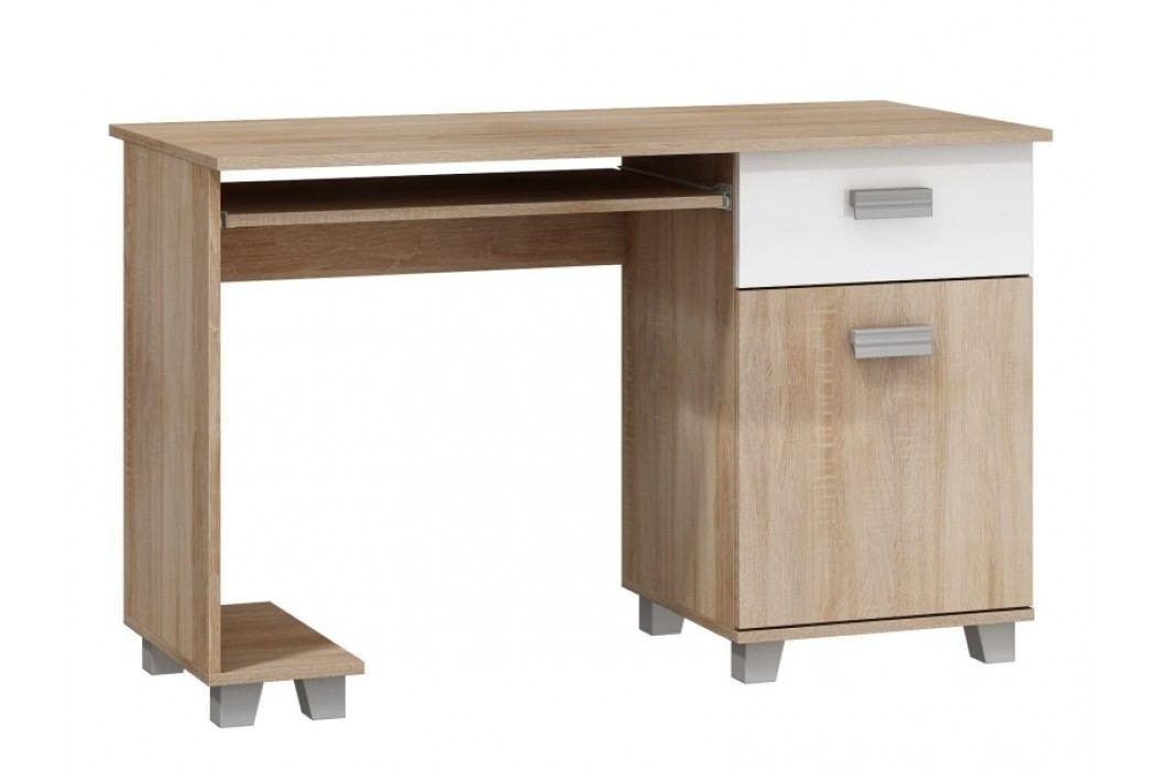 MORAVIA FLAT PC stůl se skříňkou SOLO, SOL-01, barva: ...