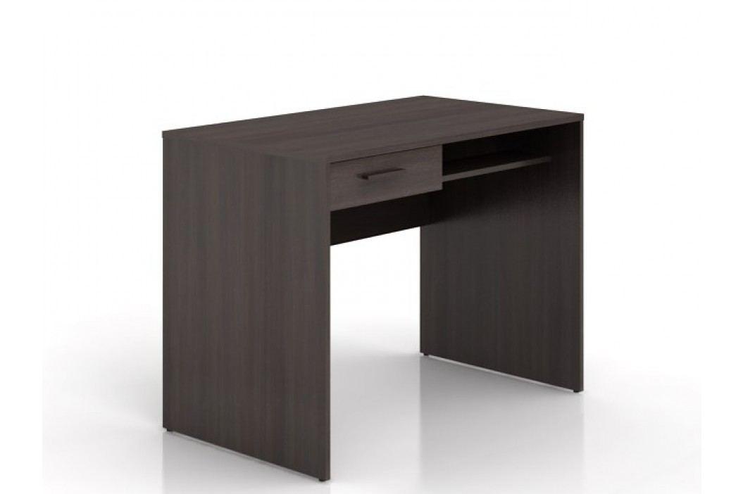 Black Red White Psací stůl se zásuvkou NEPO BIU1S, wenge
