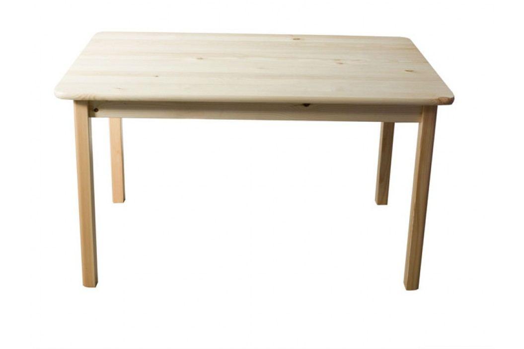 Stůl 100 x 70 cm nr.1, masiv borovice obrázek inspirace