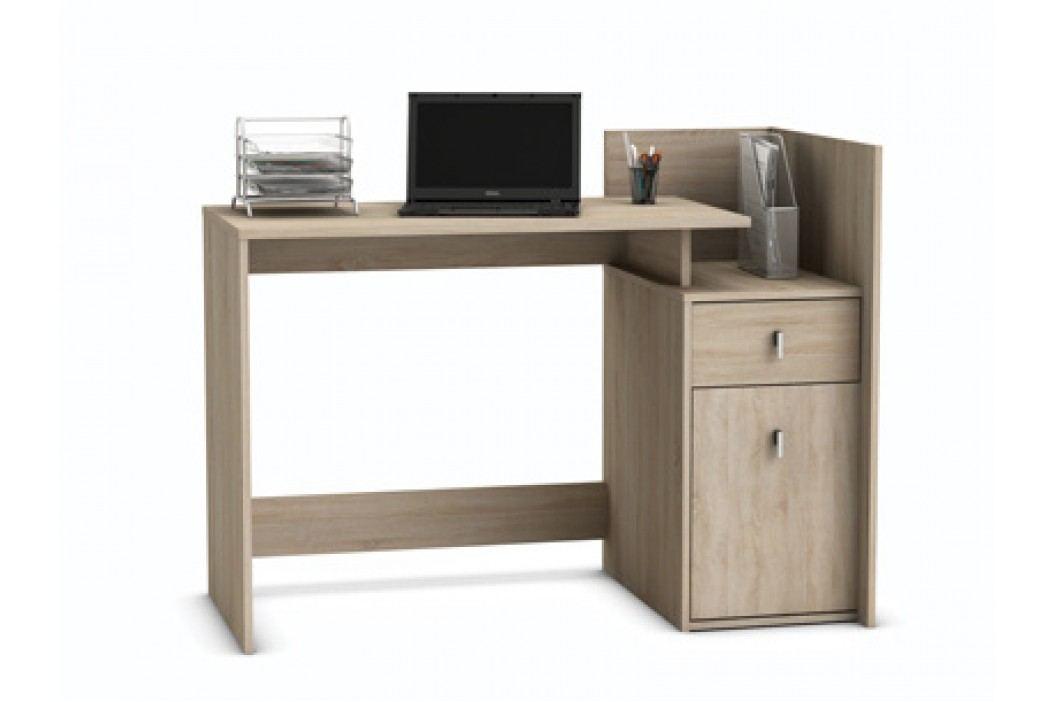 MEGIA, psací stůl, dub sonoma