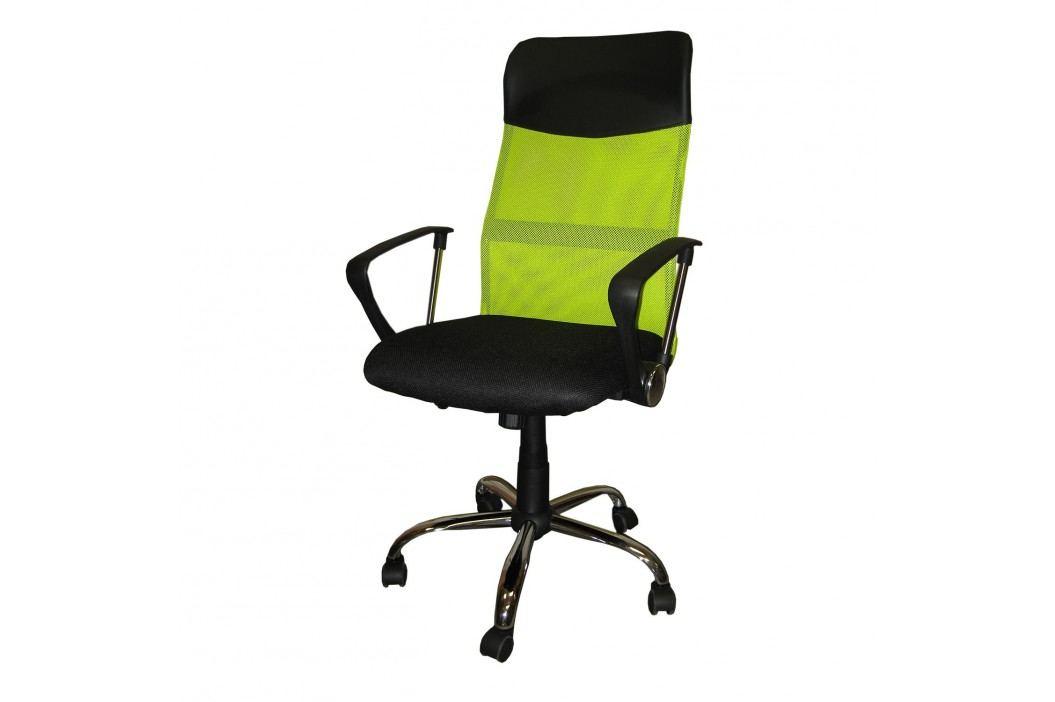 Idea Kancelářské křeslo President, zelená barva