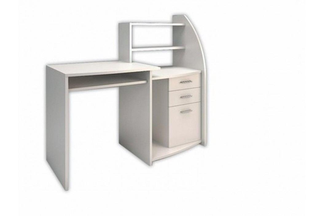 Smartshop Studentský PC stůl SUDOKU, bílá