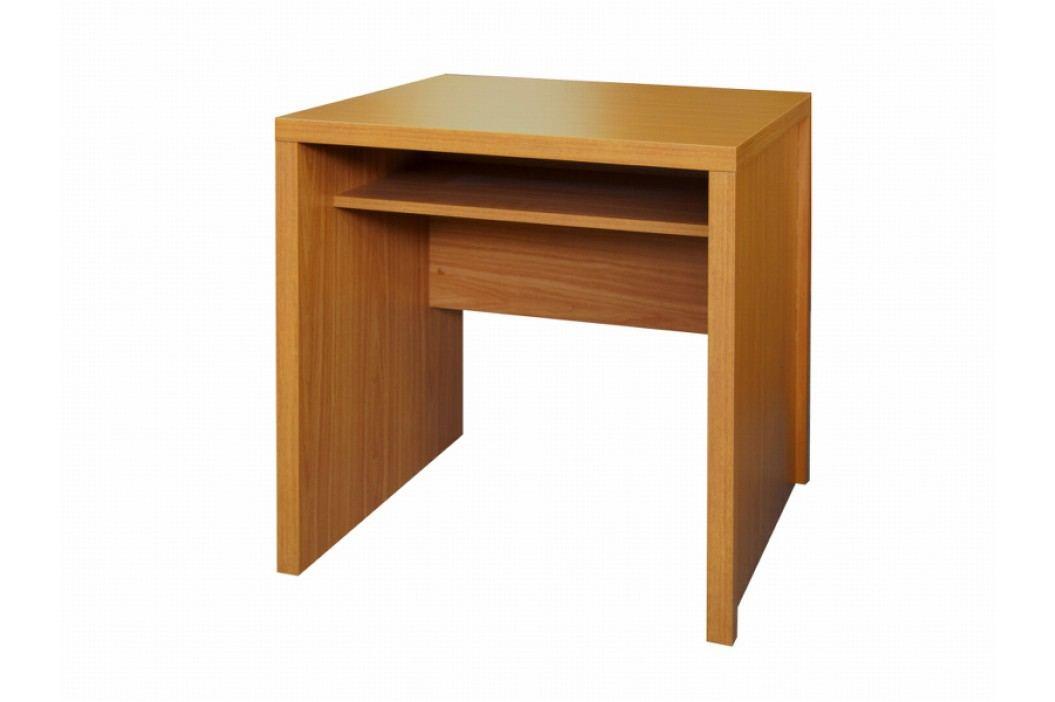 Tempo Kondela Jednoduchý PC stůl OSCAR T04, třešeň