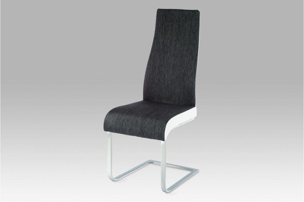 Jídelní židle AC-1817 BKW2, černo-bílá obrázek inspirace