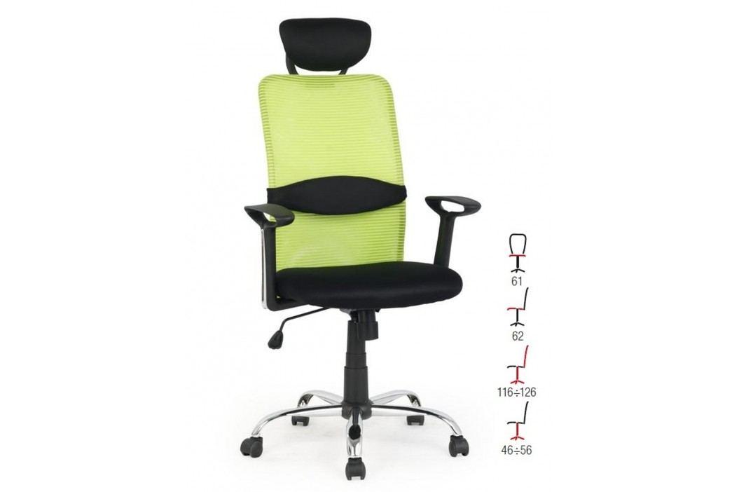 Halmar Kancelářské křeslo DANCAN, černo-zelená