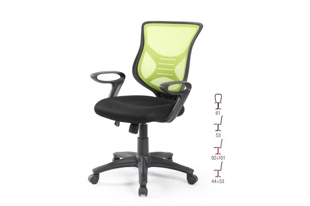 Halmar Kancelářské křeslo BONO, černo-zelená