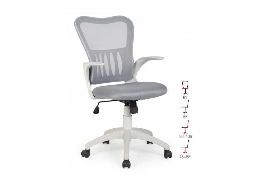 Halmar Kancelářské křeslo GRIFFIN, šedá