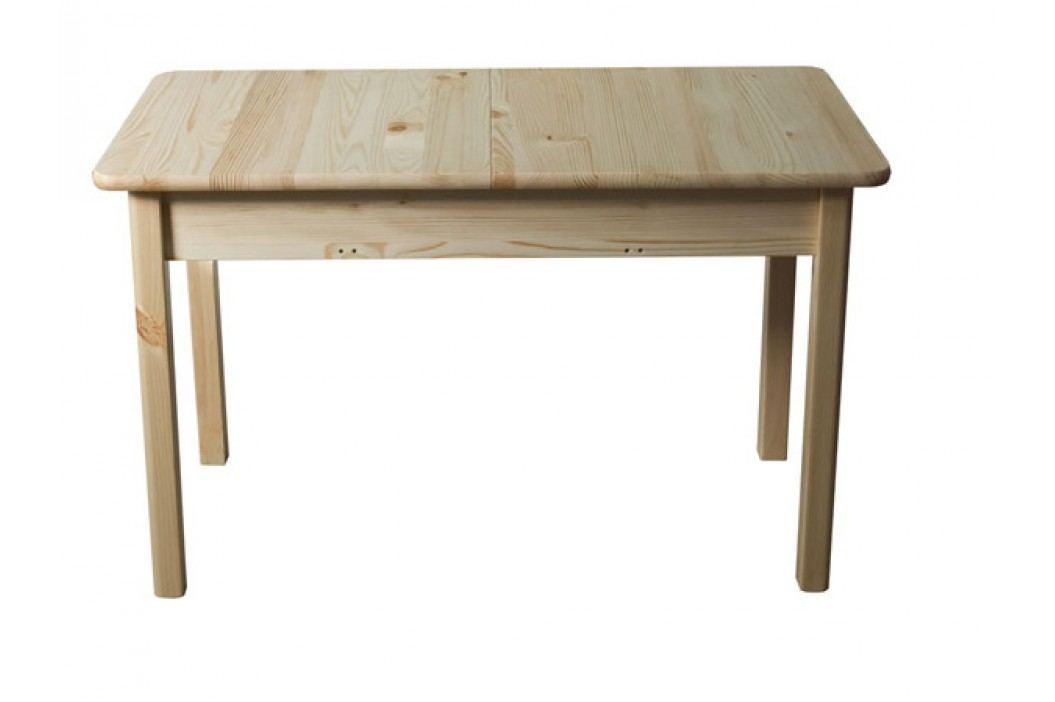 Stůl 120/150 x 60 cm nr.8, masiv borovice