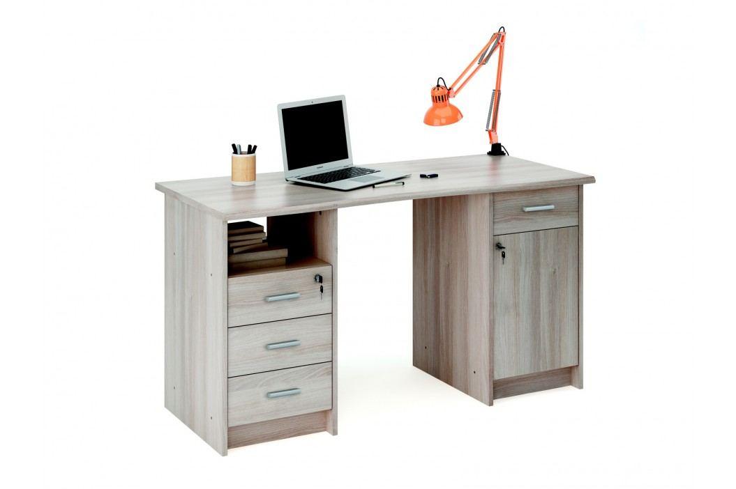 DEMEYERE MONAKO, psací stůl, dub shannon