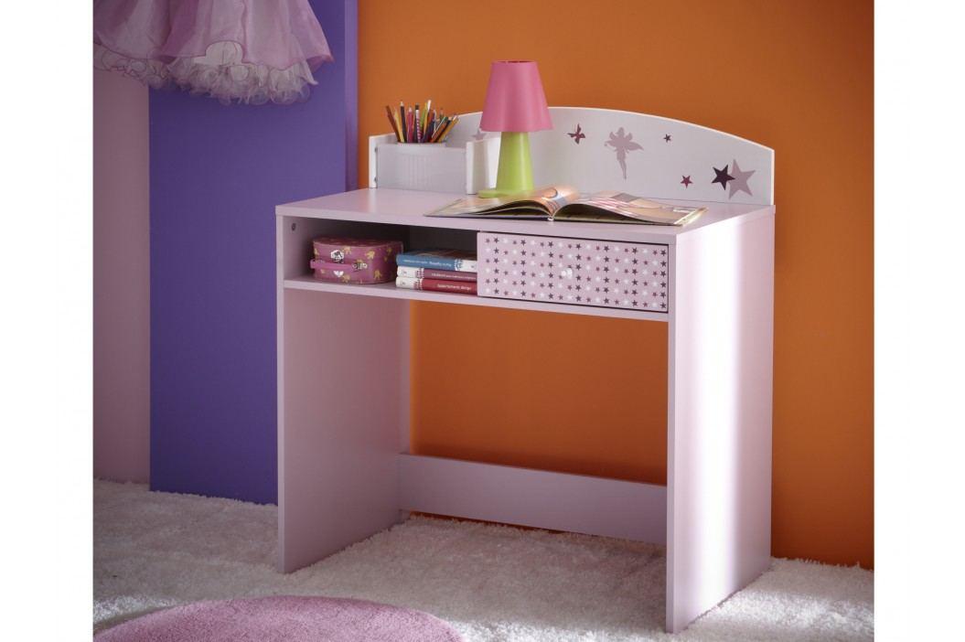 Dětský psací stůl FEI, fialková obrázek inspirace