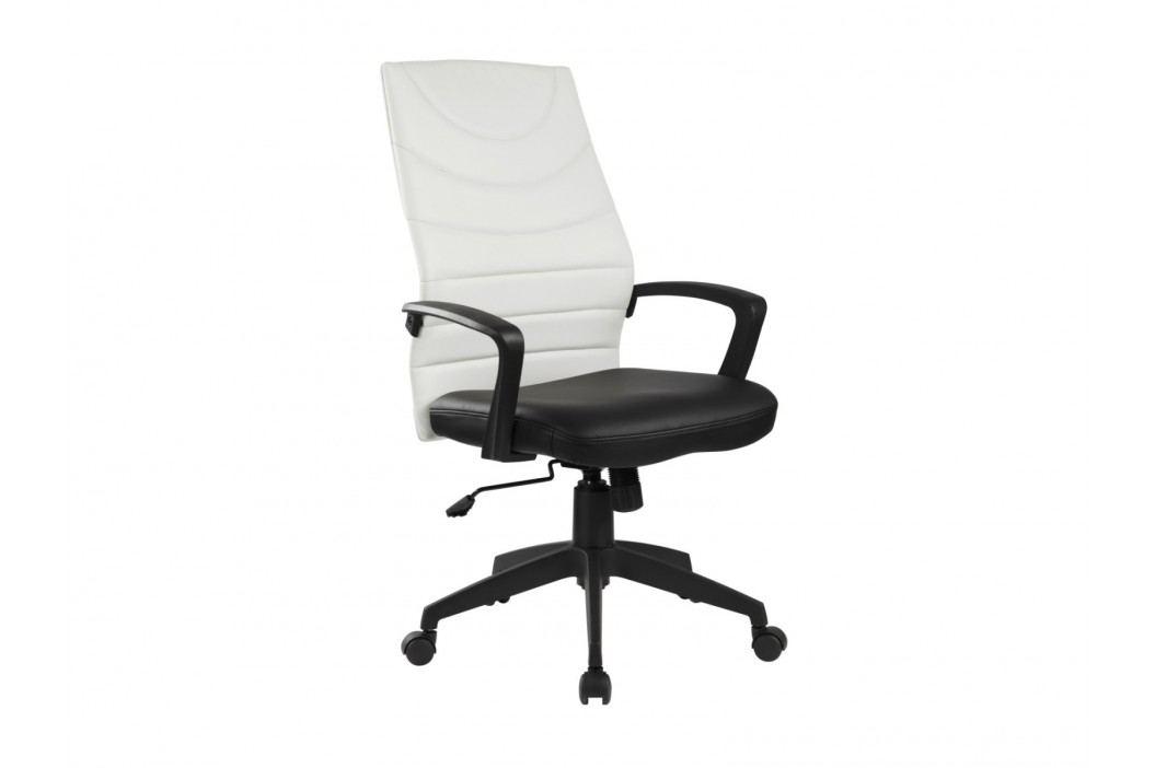 Halmar Kancelářské křeslo SAMMY, černá/bílá