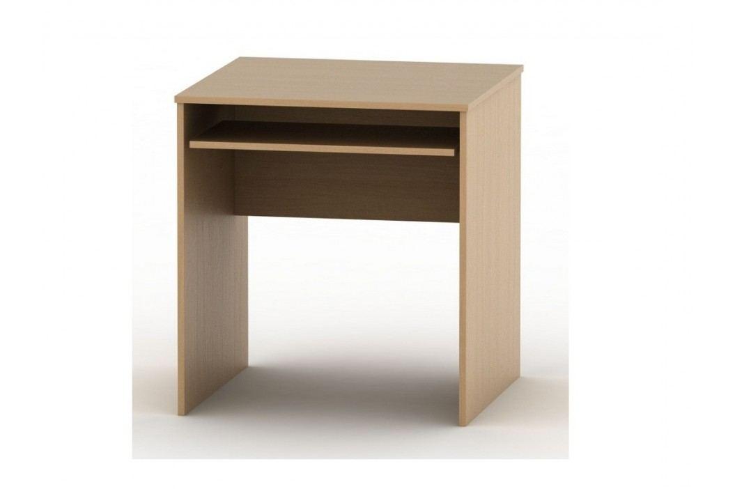 PC stůl s výsuvem TEMPO AS NEW 023, buk
